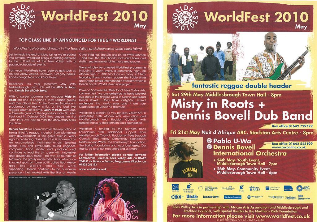 2010, Worldfest