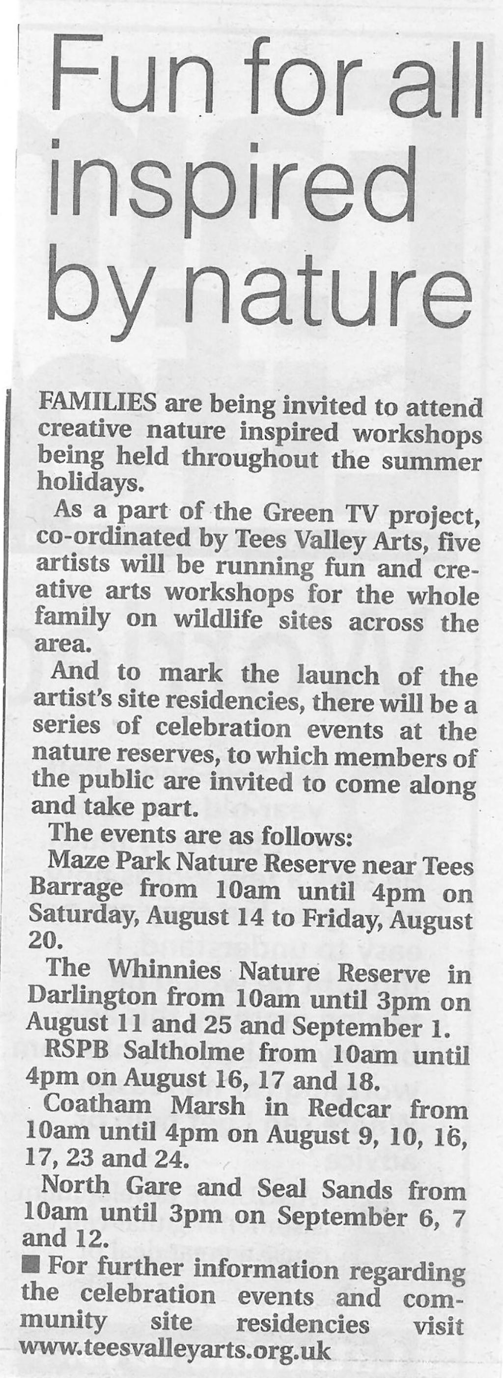 2010-08-06, Evening Gazette