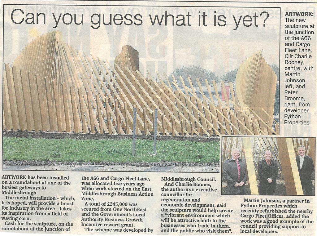 2011-11-22, Evening Gazette