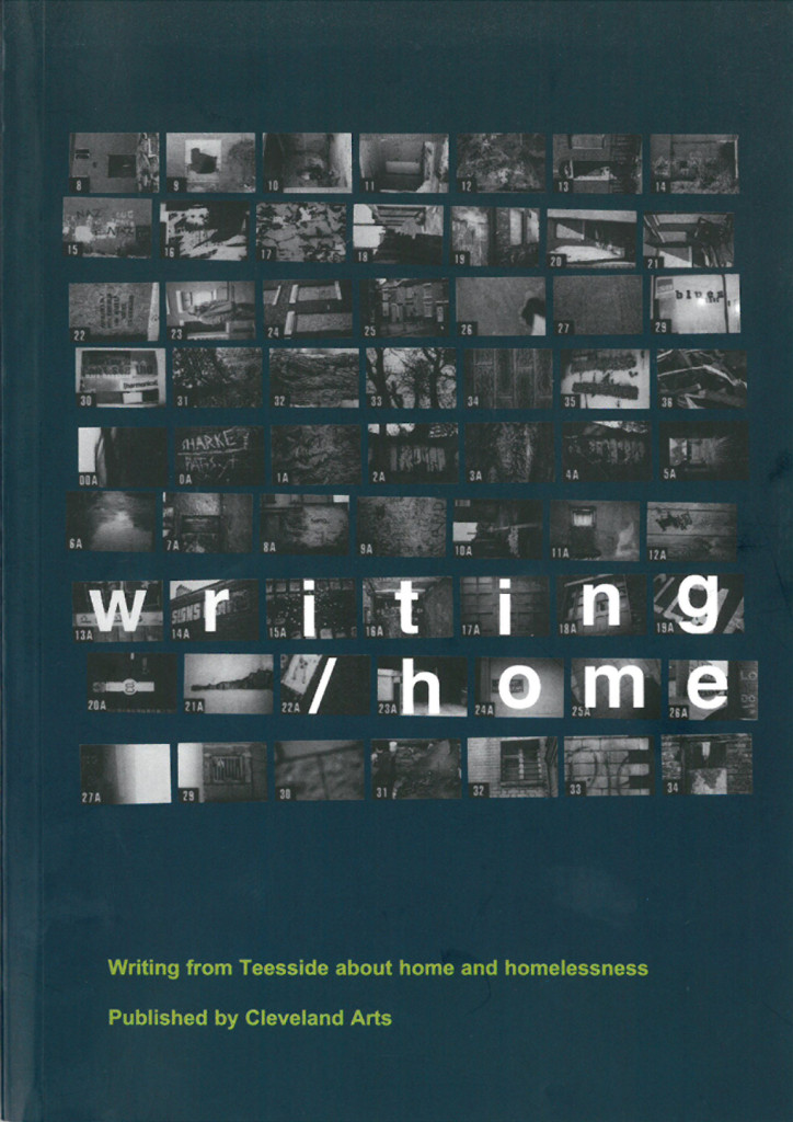 Writing home book cover