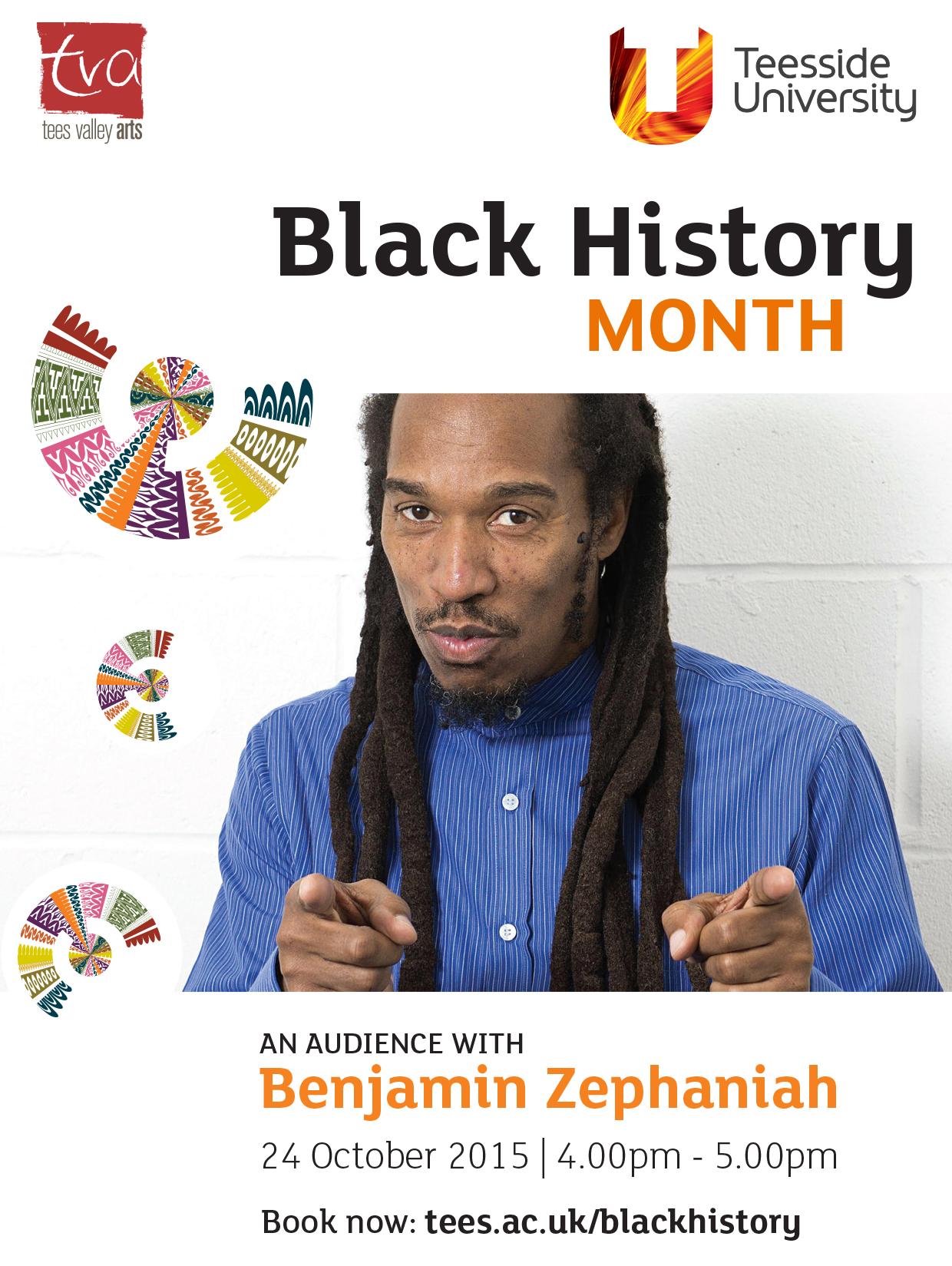 An Audience With Benjamin Zephaniah
