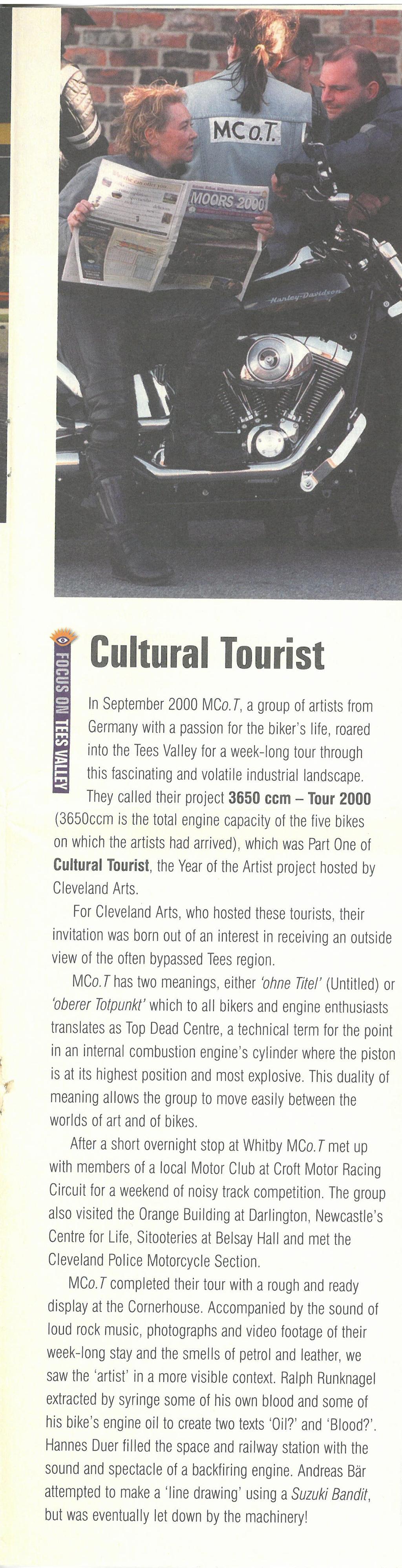 2001-03, Northern Arts (3)
