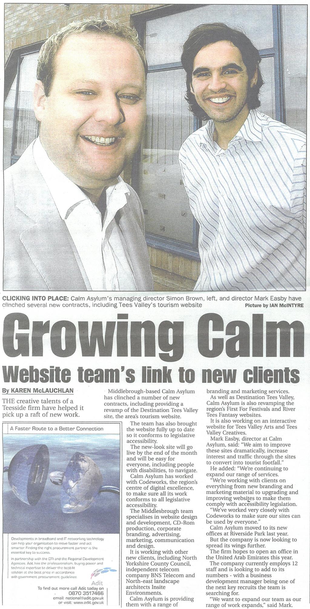 2005-08-23, Evening Gazette