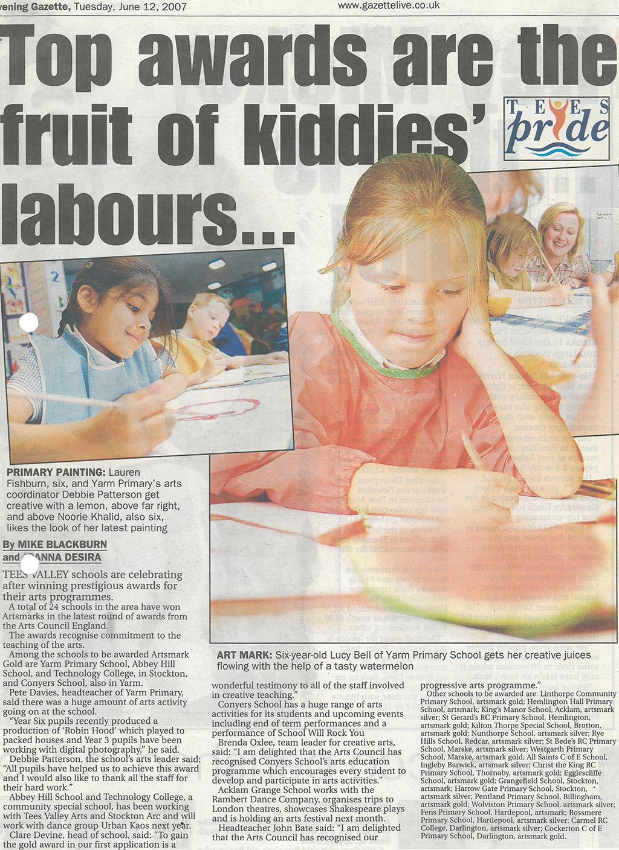 2007-06-12, evening gazette