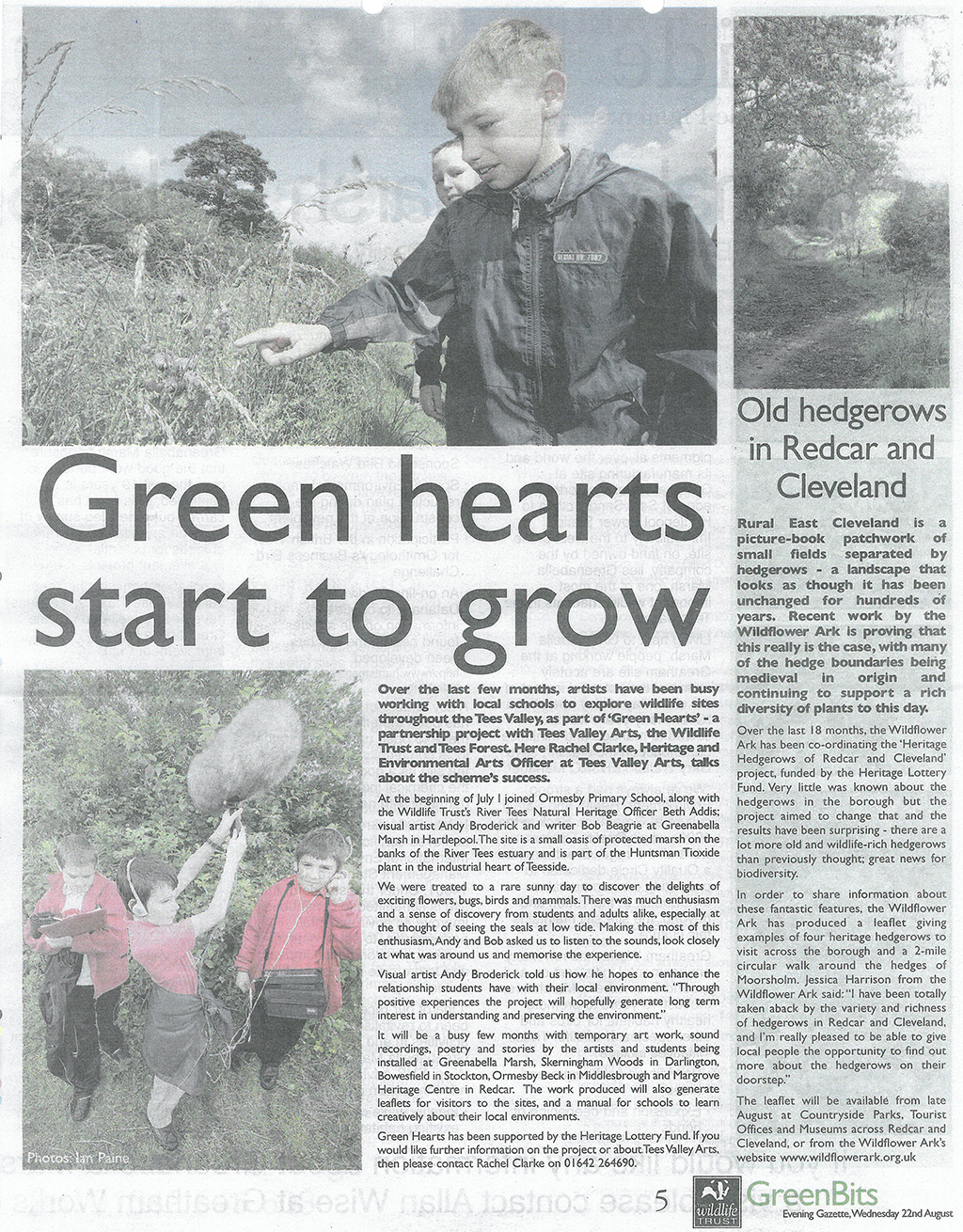 2007-08-22, evening gazette