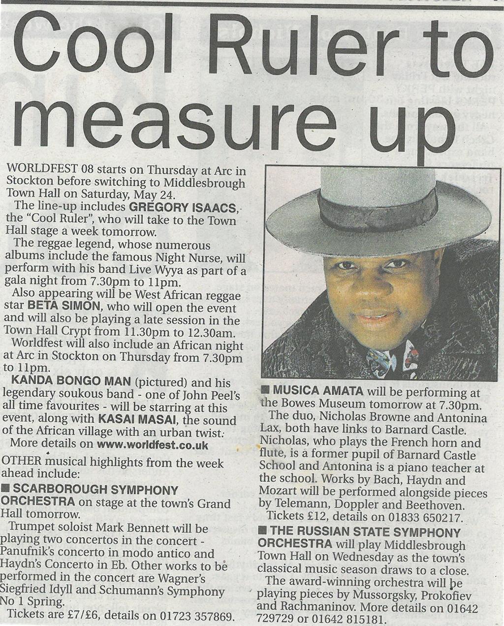 2008-05-16, Evening Gazette (2)
