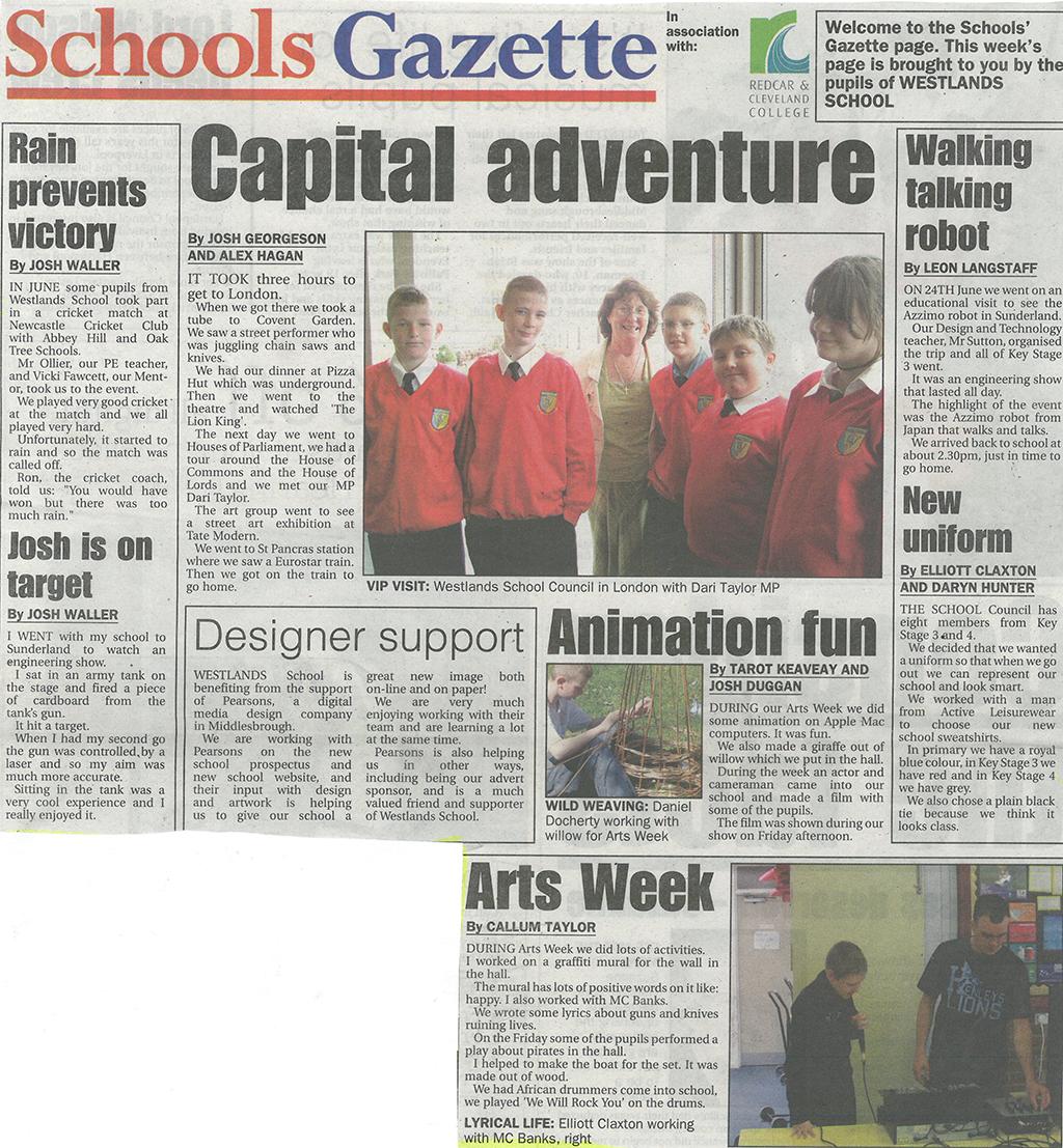 2008-07-29, Evening Gazette