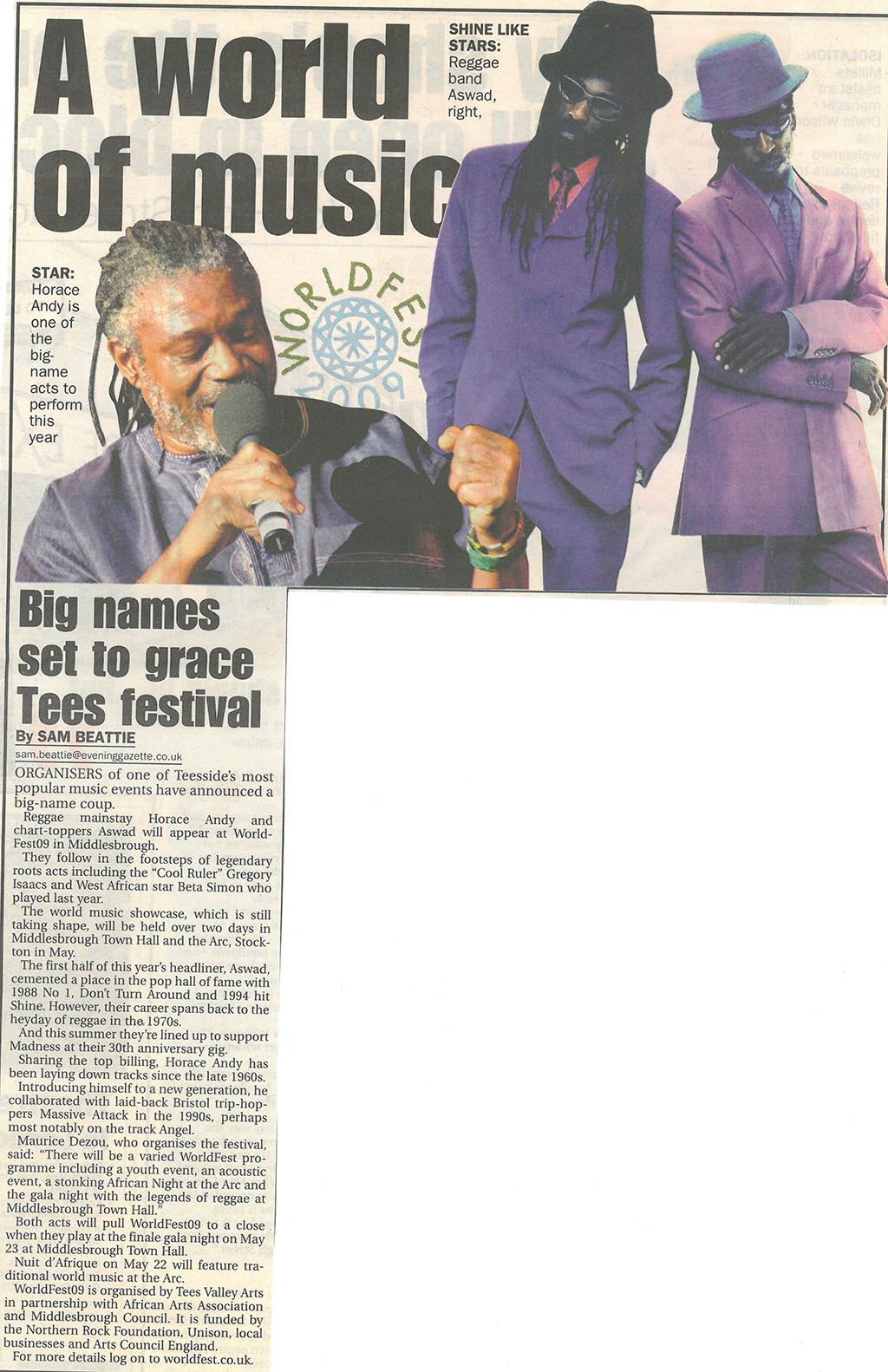 2009-02-17, Evening Gazette