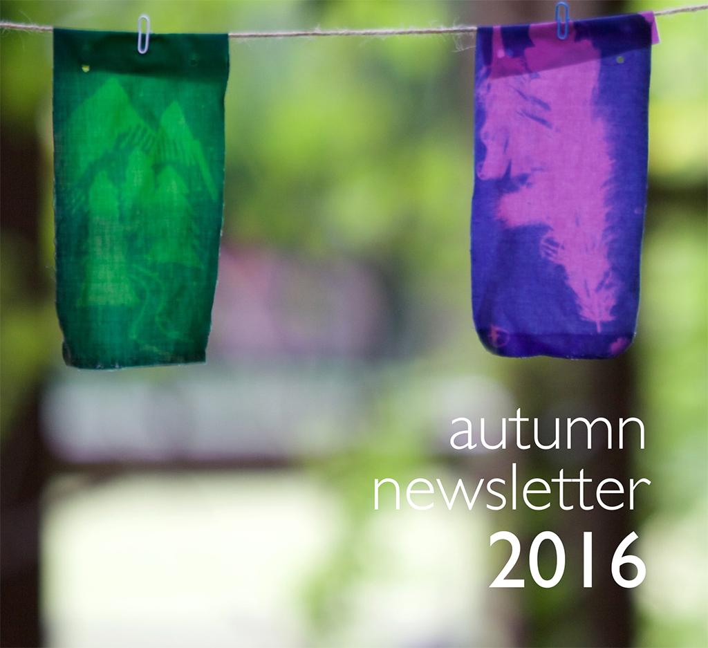 TVA 2016 Autumn Newsletter