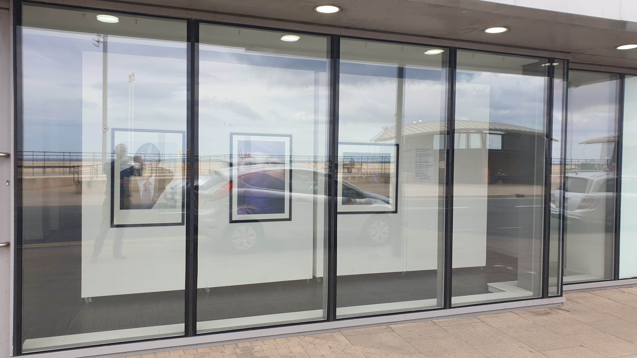 Palace Hub Gallery Window Exhibition by Kev Howard